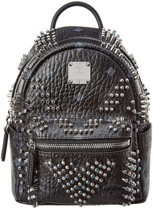 MCM Stark Bebe Boo Mini Backpack
