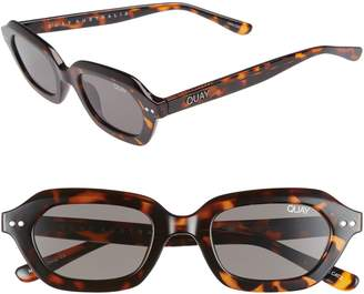 Quay x Finders Keepers Anything Goes 49mm Square Sunglasses