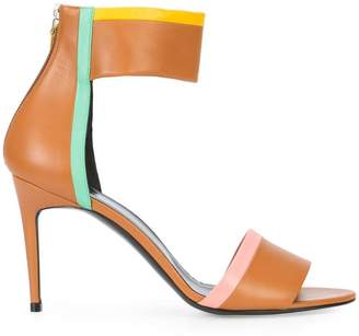 Pierre Hardy colour block sandals