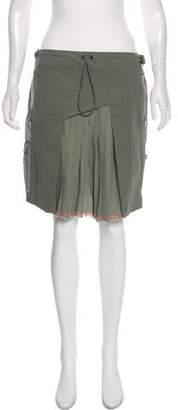 Tim Coppens Pleated Midi Skirt