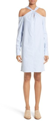 Women's Rag & Bone Collingwood Cold Shoulder Dress $395 thestylecure.com