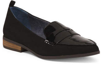 Slip On Pointy Toe Loafers