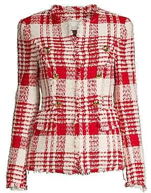 Escada Women's Betlu Fringe Tweed Jacket