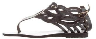 Ancient Greek Sandals Medea Cutout Sandals