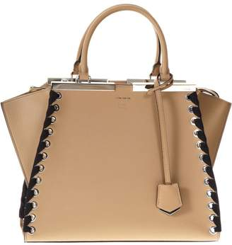 Fendi 3 Jours Tan Leather Bag