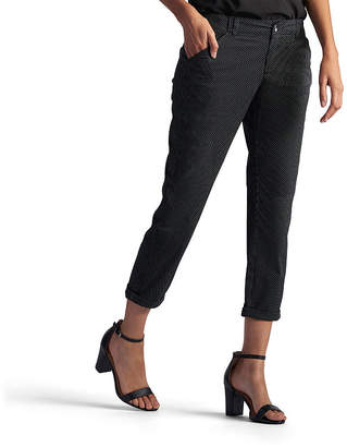 Lee Mid Rise Petite Cropped Pants