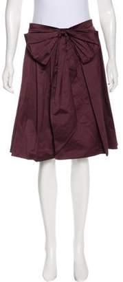 Saint Laurent Embellished Knee-Length Skirt w/ Tags