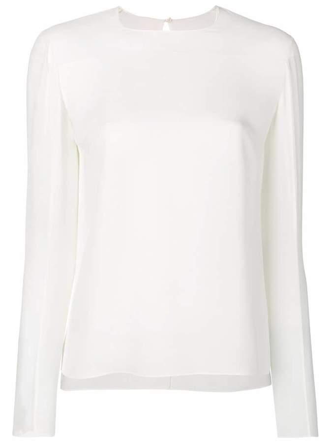 Tom Ford sheer panel blouse