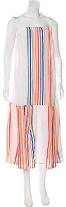 Lemlem Striped Maxi Dress w/ Tags