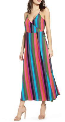 Leith Maxi Wrap Dress