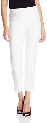 Nic+Zoe Women's Perfect Ankle Pant with Side Zip