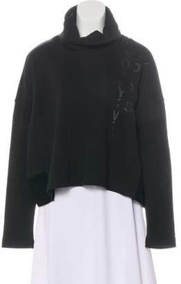 Y-3 Cropped Turtleneck Sweatshirt