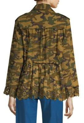 Sea Carina Camouflage Jacket
