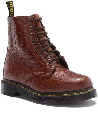 Dr. Martens 1460 Pascal Croc Embossed Leather Boot