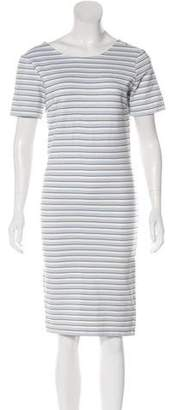 Veronica Beard Knit Knee-Length Dress