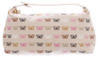 Bottega Veneta Bottega Veneta Butterfly Printed Cosmetic Bag