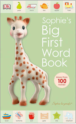 Penguin Random House Sophie Giraffe Big 1St Word Book