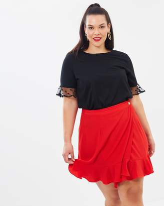 ICONIC EXCLUSIVE - Cross Over Skirt