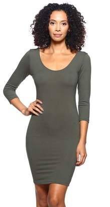 Capella Apparel 3/4 Sleeve Dress