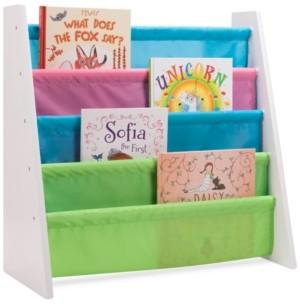 Honey-Can-Do Kids Pastel Itsy-Bitsy Book Rack