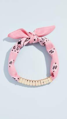 Lee Holst + Bandana Necklace