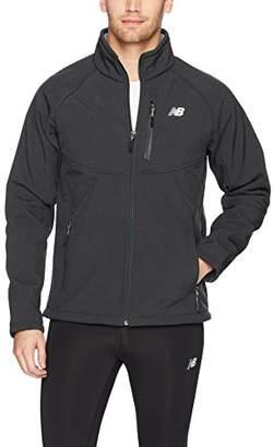 New Balance Men's Soft Shell Jacket with Sherpa Lining