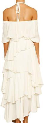 STYLEKEEPERS Hydra Tiered Cotton Maxi Dress
