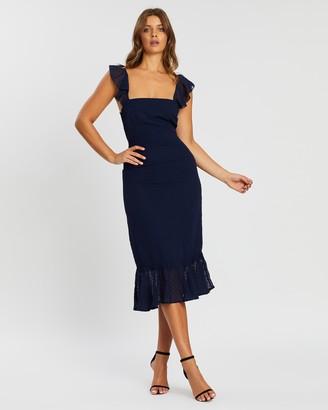 Atmos & Here Marli Tie Back Dress