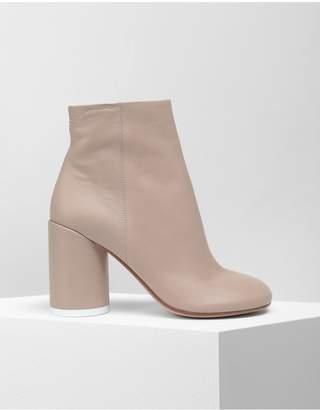 MM6 MAISON MARGIELA 6 Heel Leather Boots