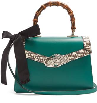 Gucci Lilith small bamboo-handle leather bag