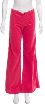 Balenciaga Mid-Rise Corduroy Pants