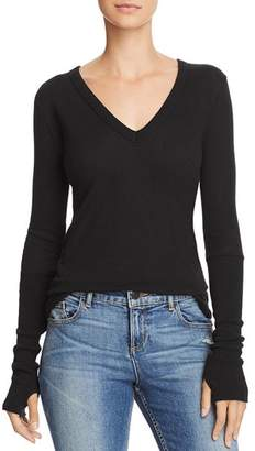 Enza Costa Thumbhole-Detail Top