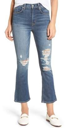 Hudson Brix High Waist Crop Bootcut Jeans (Notorious)