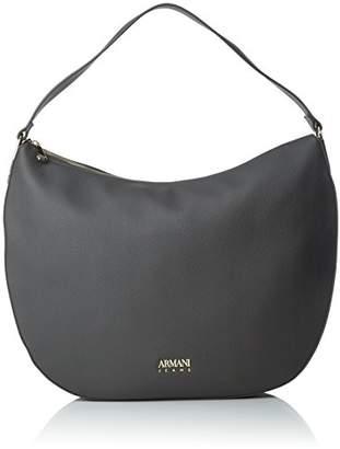 Armani Jeans Womens 9223317A793 Shoulder Bag Grey Size: