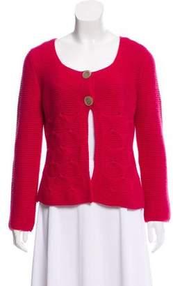 Agnona Cashmere Button Front Cardigan