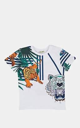 Kenzo Kids' Logo-Print Cotton T-Shirt - White
