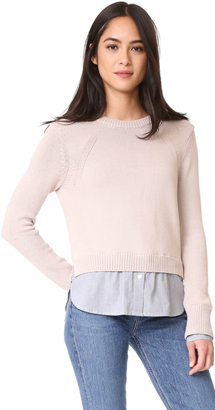Brochu Walker Anton Layered Pullover $458 thestylecure.com