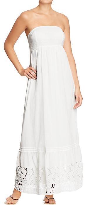 Old Navy Women's Tube-Eyelet Maxi Dresses