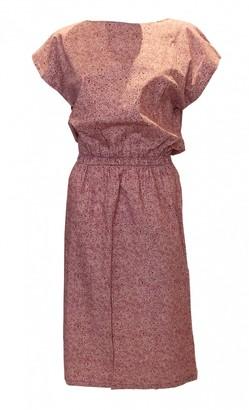 Liberty of London Designs Pink Cotton Dress for Women Vintage