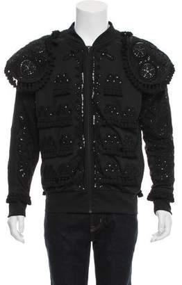 Jeremy Scott x Adidas Embellished Torero Superstar Jacket