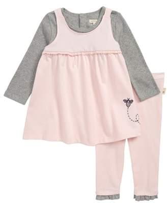 Burt's Bees Baby Dress & Pants Set