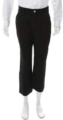Versus Flat Front Cropped Pants
