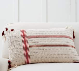 Pottery Barn Nellie Quilted Lumbar Pillow Cover