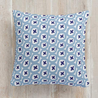 Buttoned Up Square Pillow