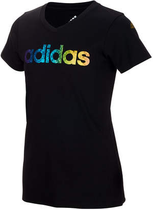 adidas Big Girls Logo-Print T-Shirt