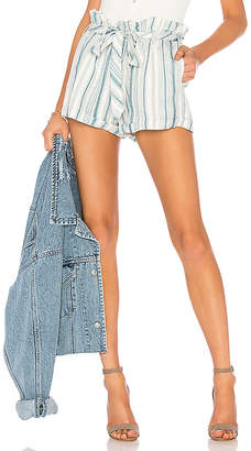Chaser Paper Bag Waist Shorts