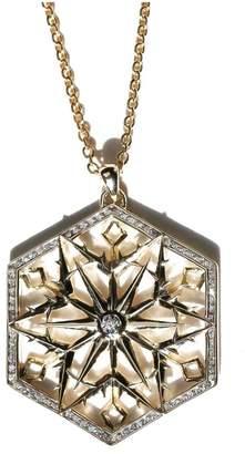 Snow Queen John Brevard Gold Diamond Necklace