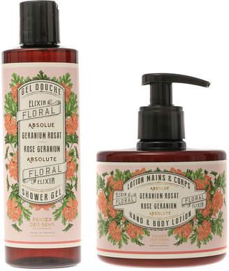 Panier des Sens Panier Des Sens Absolutes Rose Geranium Hand And Body Lotion & Shower Gel