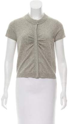 Magaschoni Cashmere Zip-Up Top
