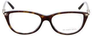 Burberry Tortoiseshell Square Eyeglasses w/ Tags
